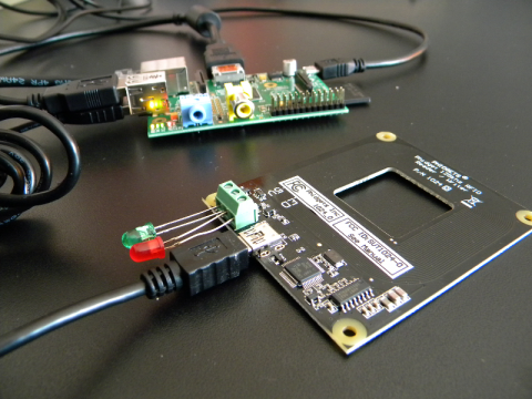 Phidgets RFID and Raspberry Pi