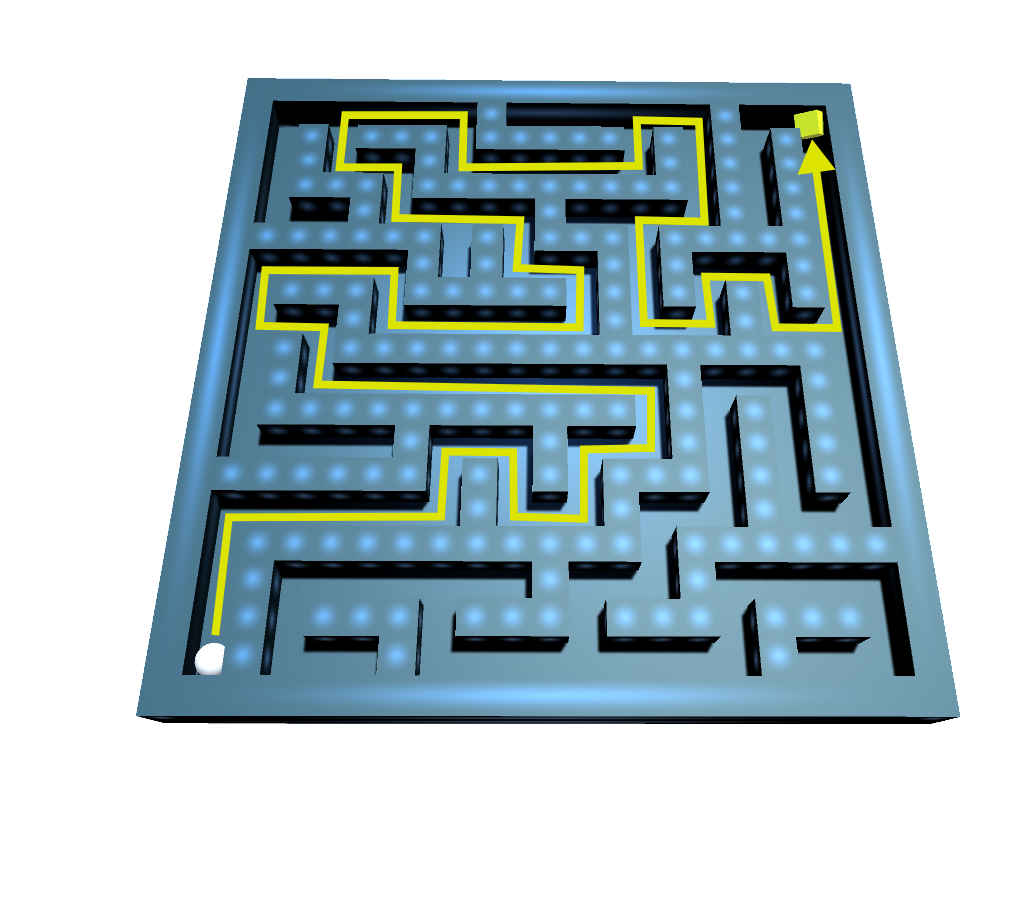Phidgets Projects: Interactive Maze: Spatial Phidget and