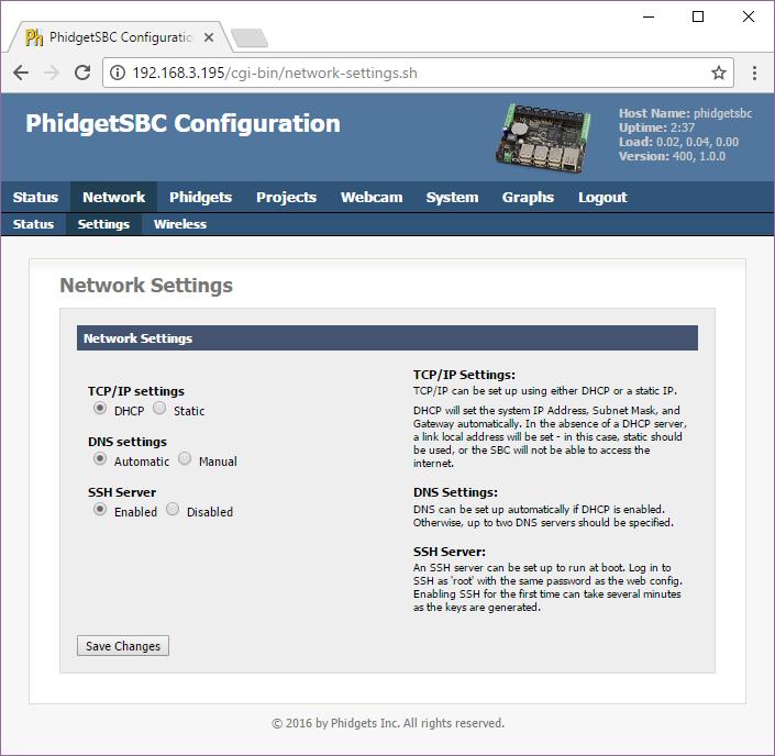 PhidgetSBC3 - 1073_0 at Phidgets