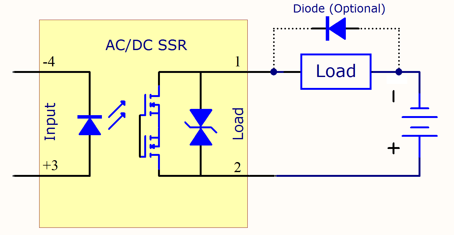 Solid State Relay Primer Phidgets Support This Circuit Can Be Used To Match Diodes For Use In Circuits Where Full Size Image