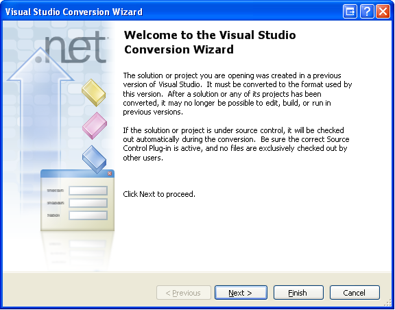 Conversion Wizard