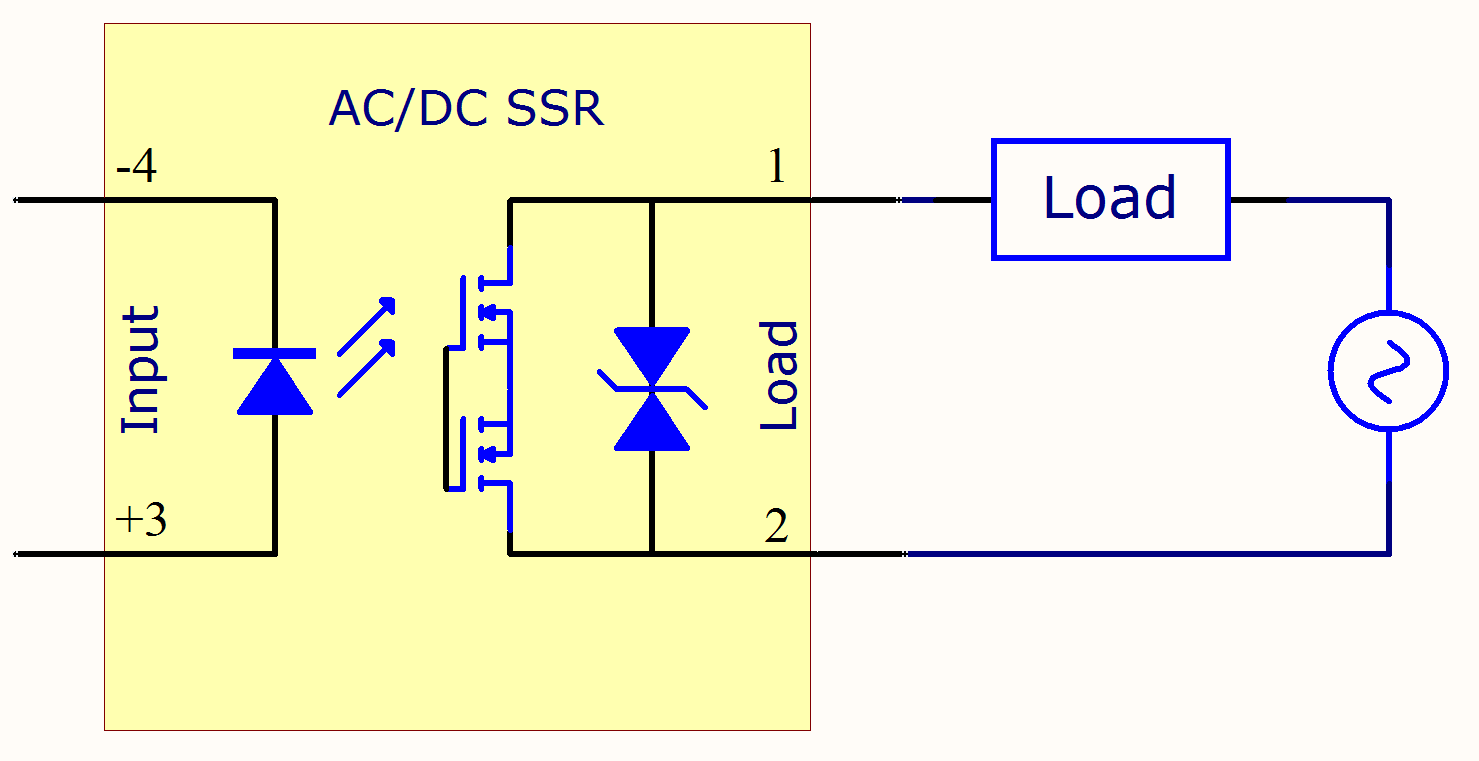 Ssr Wiring Diagram Ac To Dc The Portal And Forum Of Transistor Inverter Circuit Solid State Relay Primer Phidgets Support Rh Com Schematic