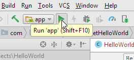 Android studio run.png