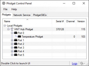 General Troubleshooting - Phidgets Support