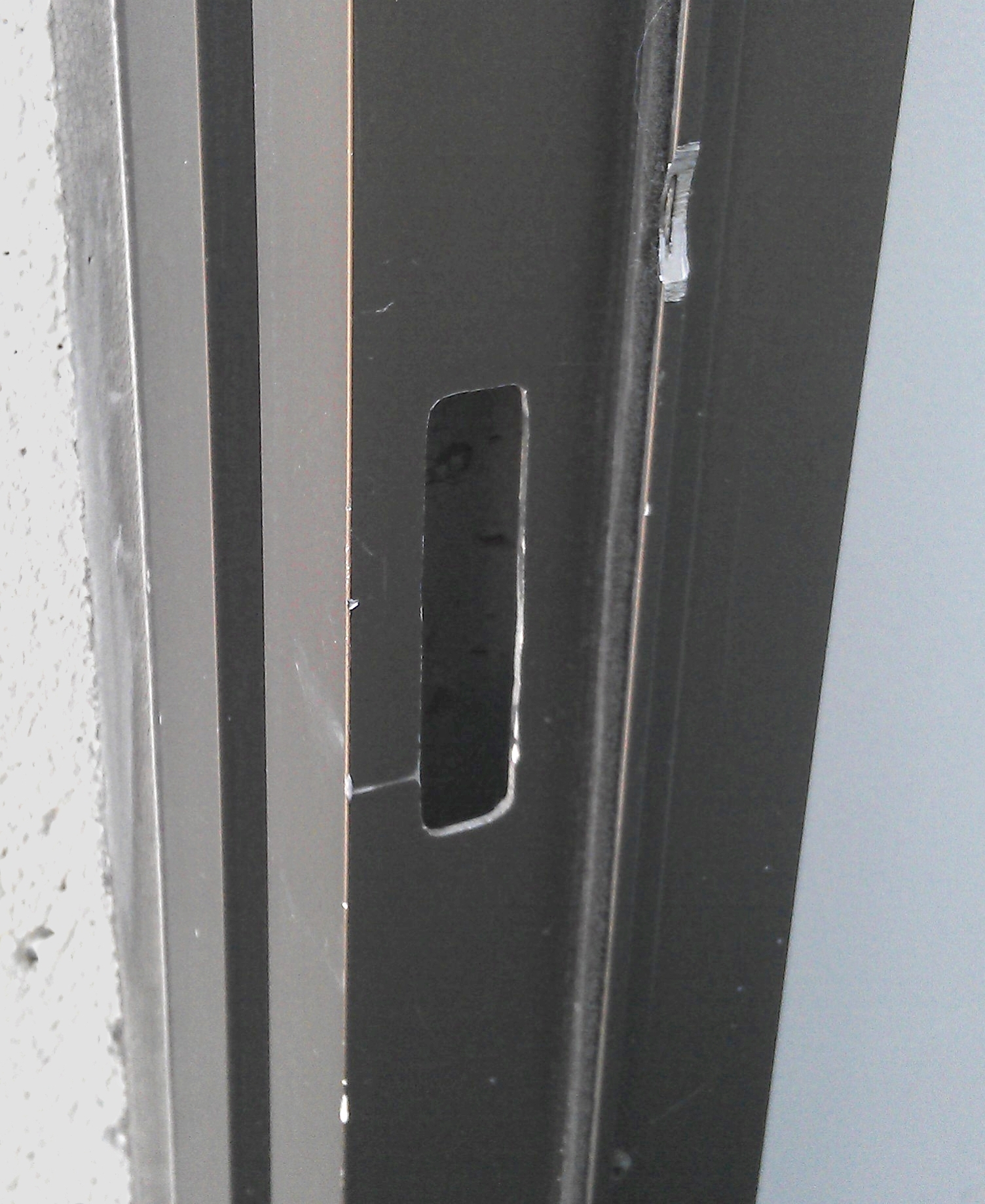 metal door frame installation instructions