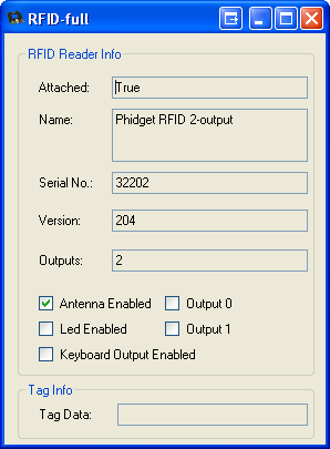Windows Control Panel Example