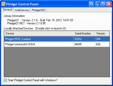 Windows Control Panel General