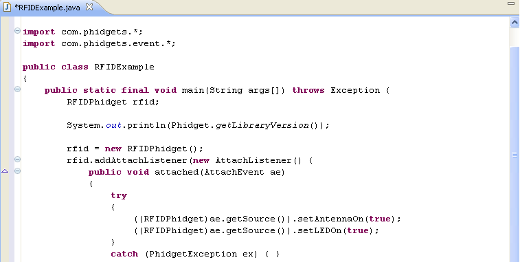 language java phidgets legacy support