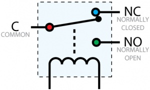 mechanical relay primer phidgets legacy support rh phidgets com Goldsboro NC Relay for Life Relay No NC Wiring-Diagram