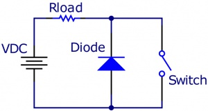 Using a Flyback Diode.