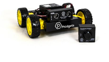 Phidgets Rover Thumbstick