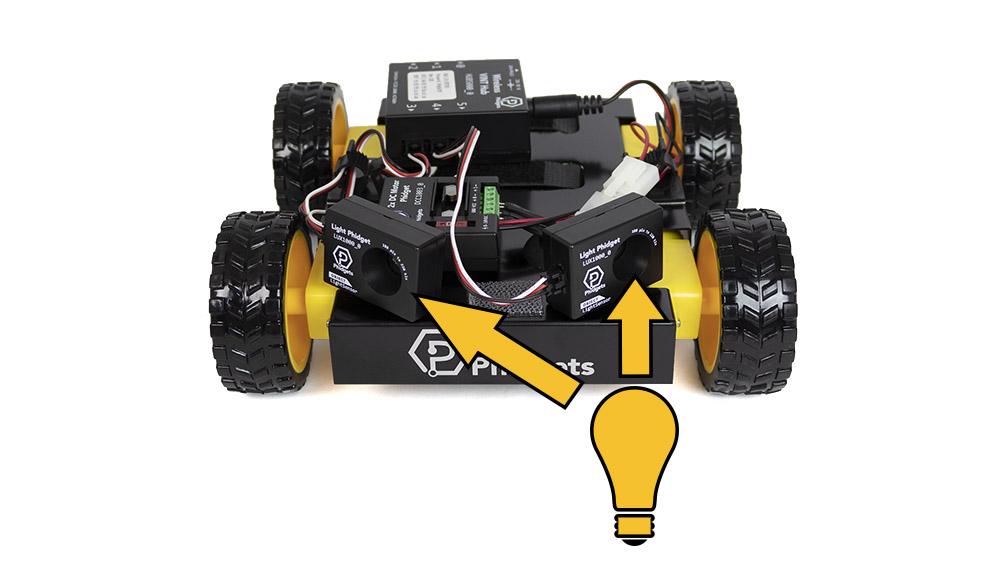 Phidgets Rover Light