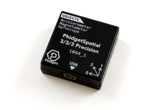 Phidget Spatial 3/3/3 with enclosure