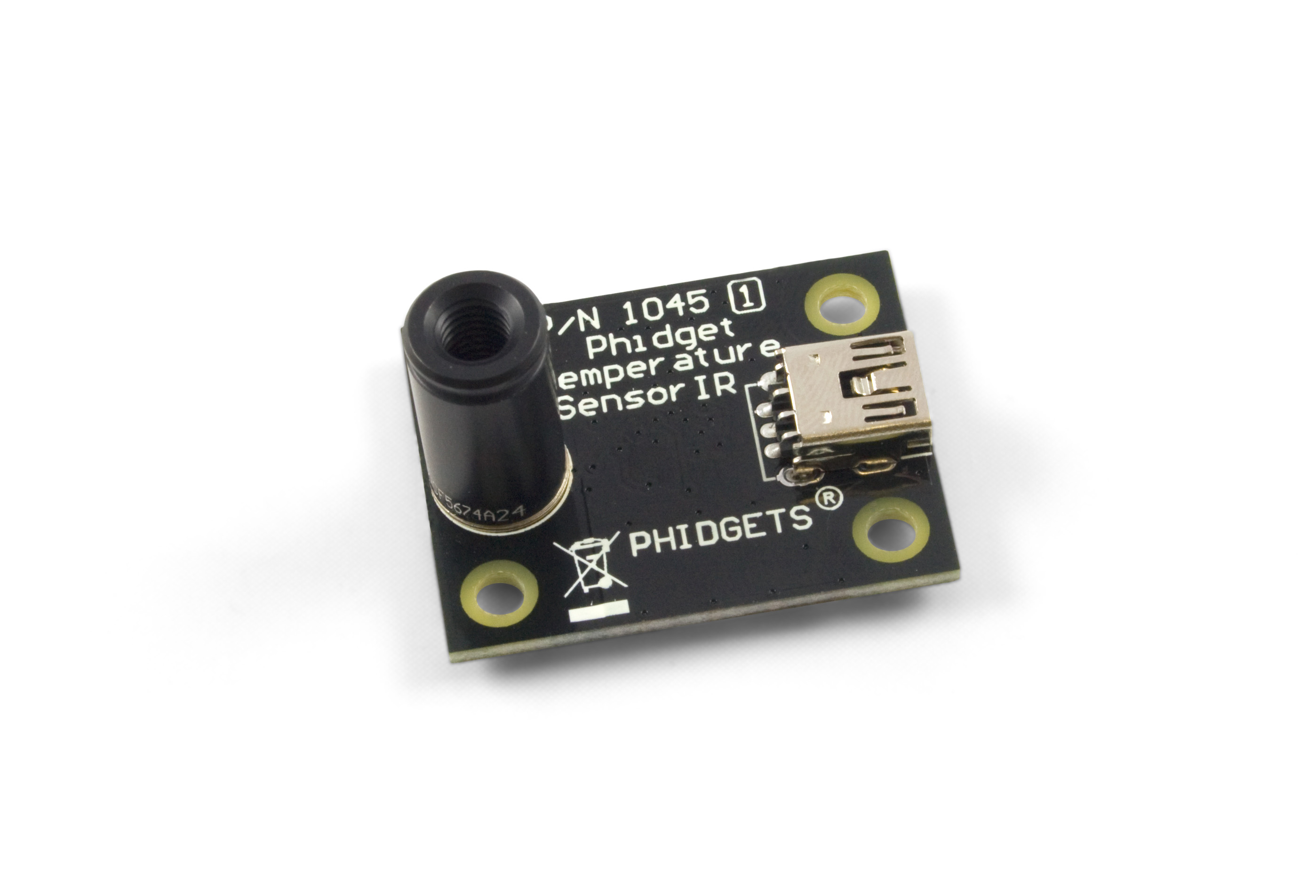 PhidgetTemperatureSensor IR - 1045_1 at Phidgets