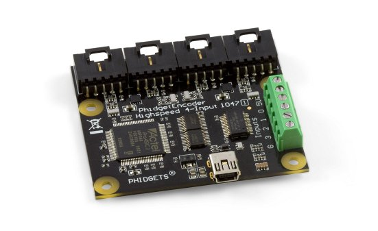 4 channel quadrature encoder input Phidget