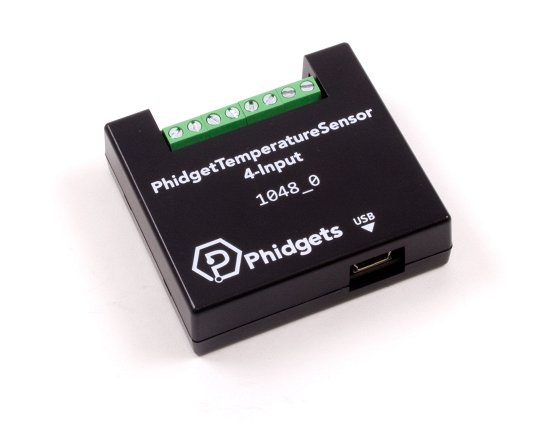 4 channel thermocouple input Phidget