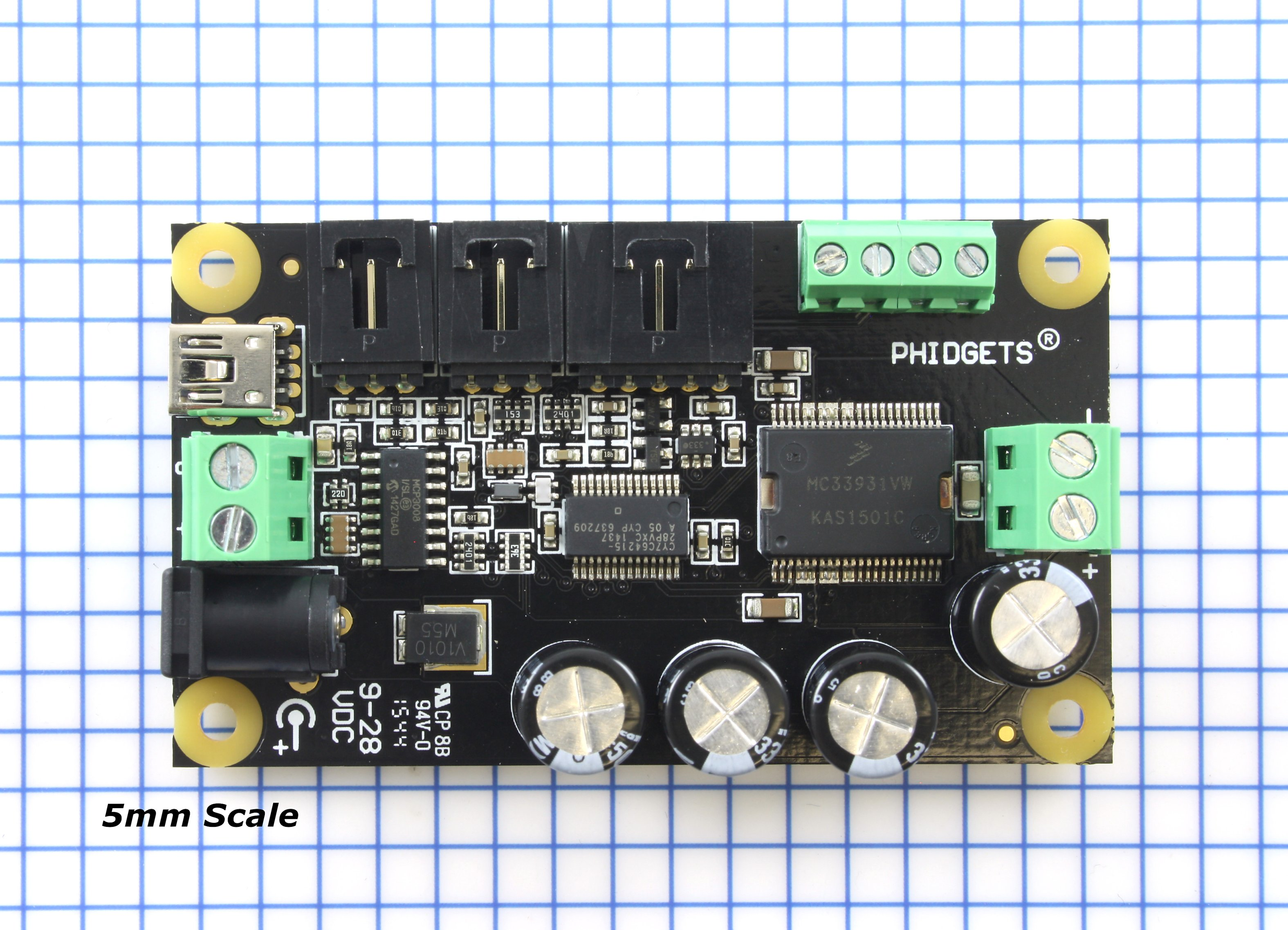 Phidgetmotorcontrol 1 Motor 1065 0 At Phidgets Ac Fan Speed Control Electronics Forum Circuits Projects And Scale