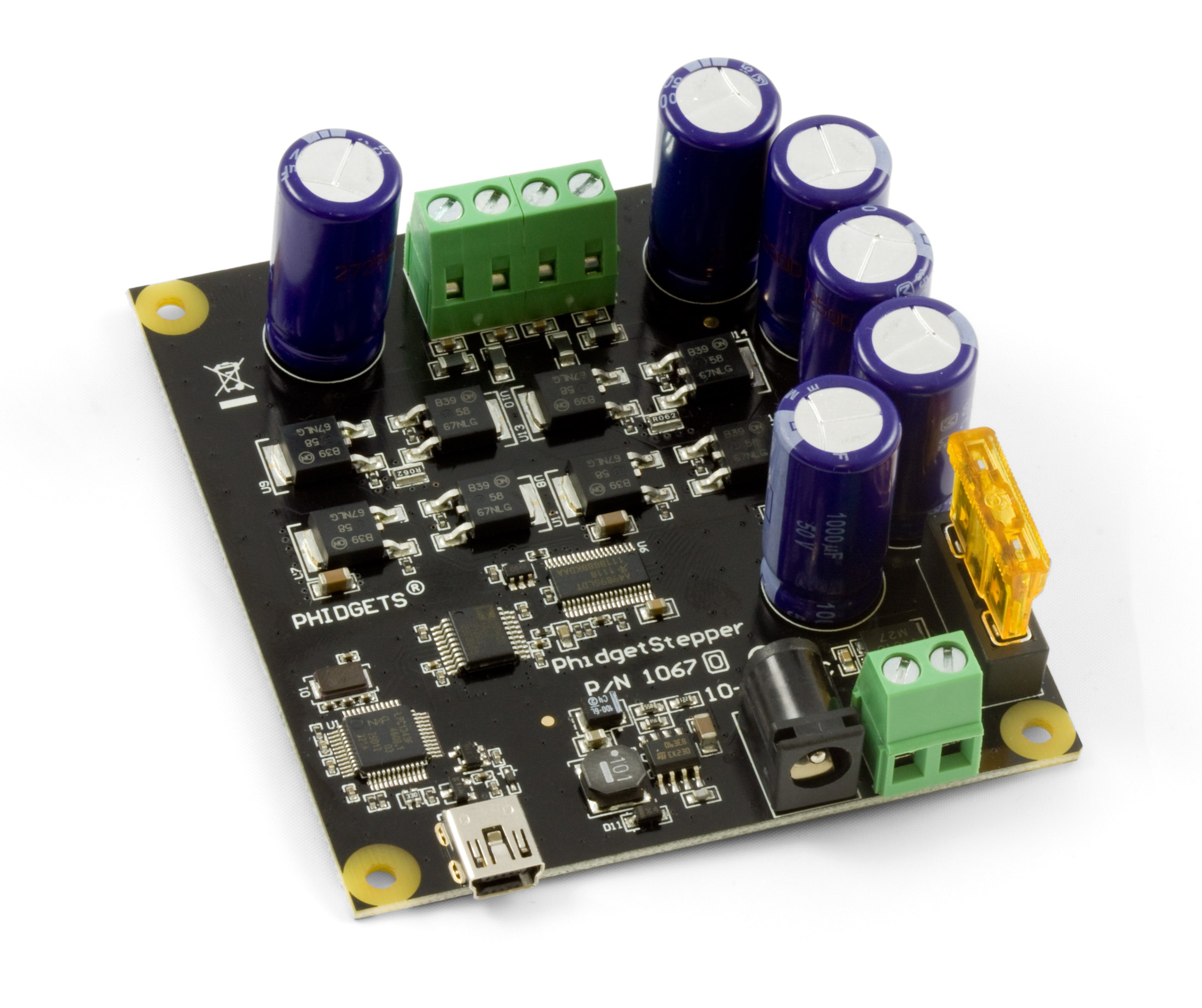 Phidgetstepper Bipolar Hc 1067 0b At Phidgets In Your Programto Drive A Stepper Motor Using This Configuration Controller