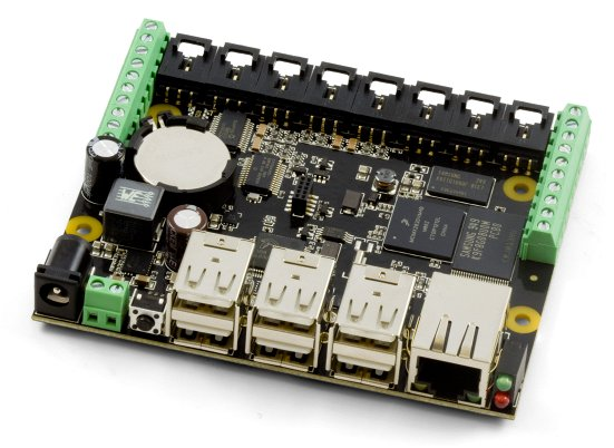Phidgets single board computer with built in 1018