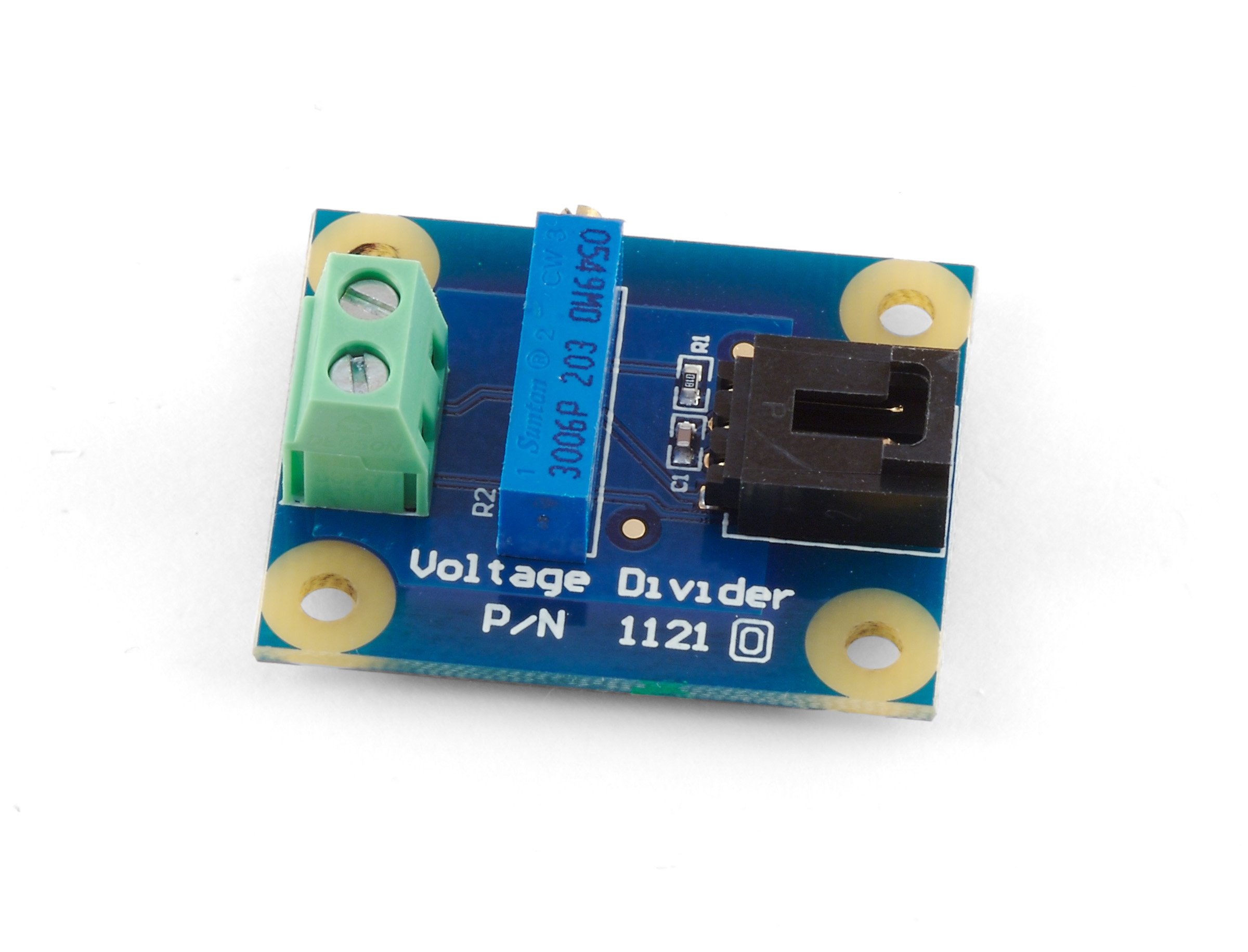 Voltage Divider 1121 0 At Phidgets Is A Circuit That Produces An Output Adapter For Resistance Based Sensors