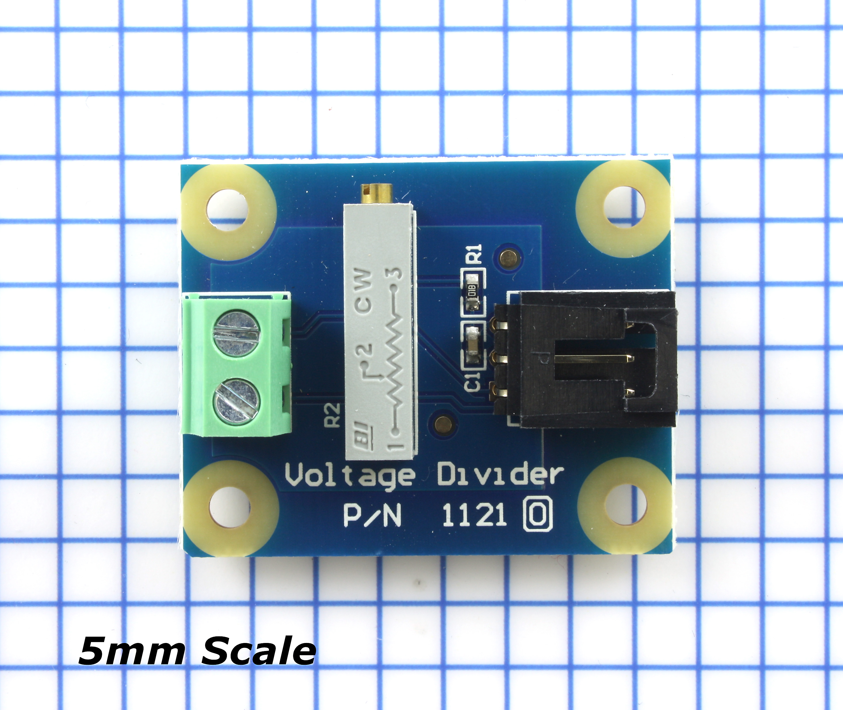 Voltage Divider 1121 0 At Phidgets In Series And Parallel Circuit Electrical