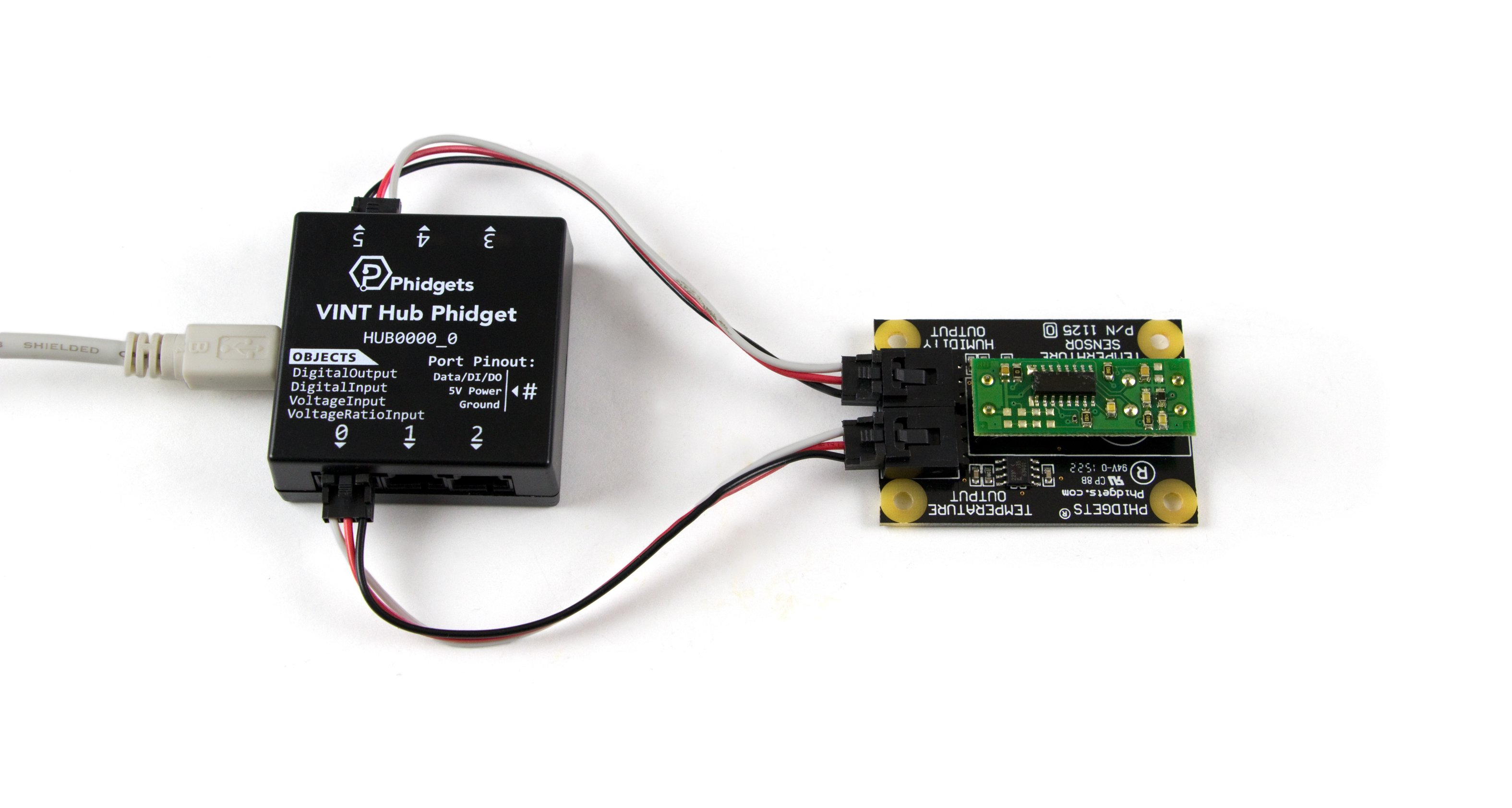Humidity/Temperature Sensor - 1125_0 at Phidgets