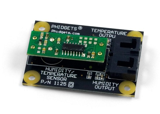 Humidity and temperature combination sensor