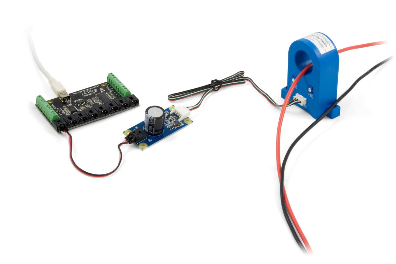 5v To 12v Sensor Adapter 1145 0 At Phidgets Wiring Connectors Functional