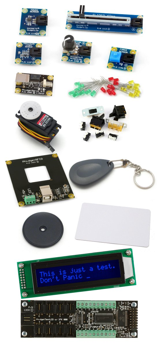 2009_0 - Phidget Intro Kit #1
