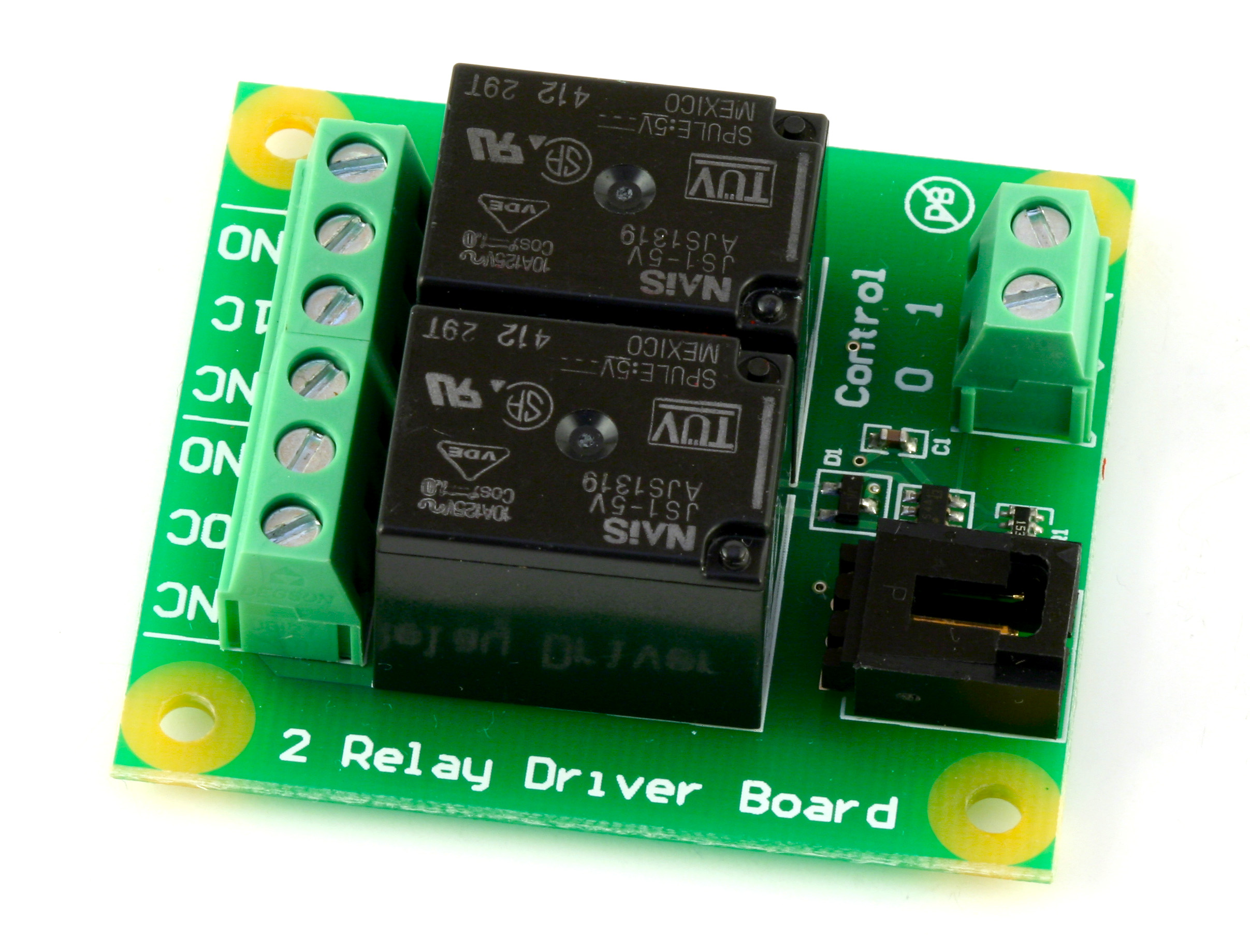 Dual Relay Board 3051 0 At Phidgets State Basic Wiring Schematic Diagram Relaycontrol Control