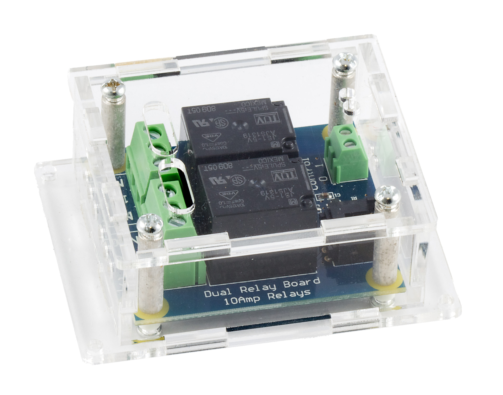 Dual Relay Board 3051 1 At Phidgets Common Terminal In Enclosure Sold Separately