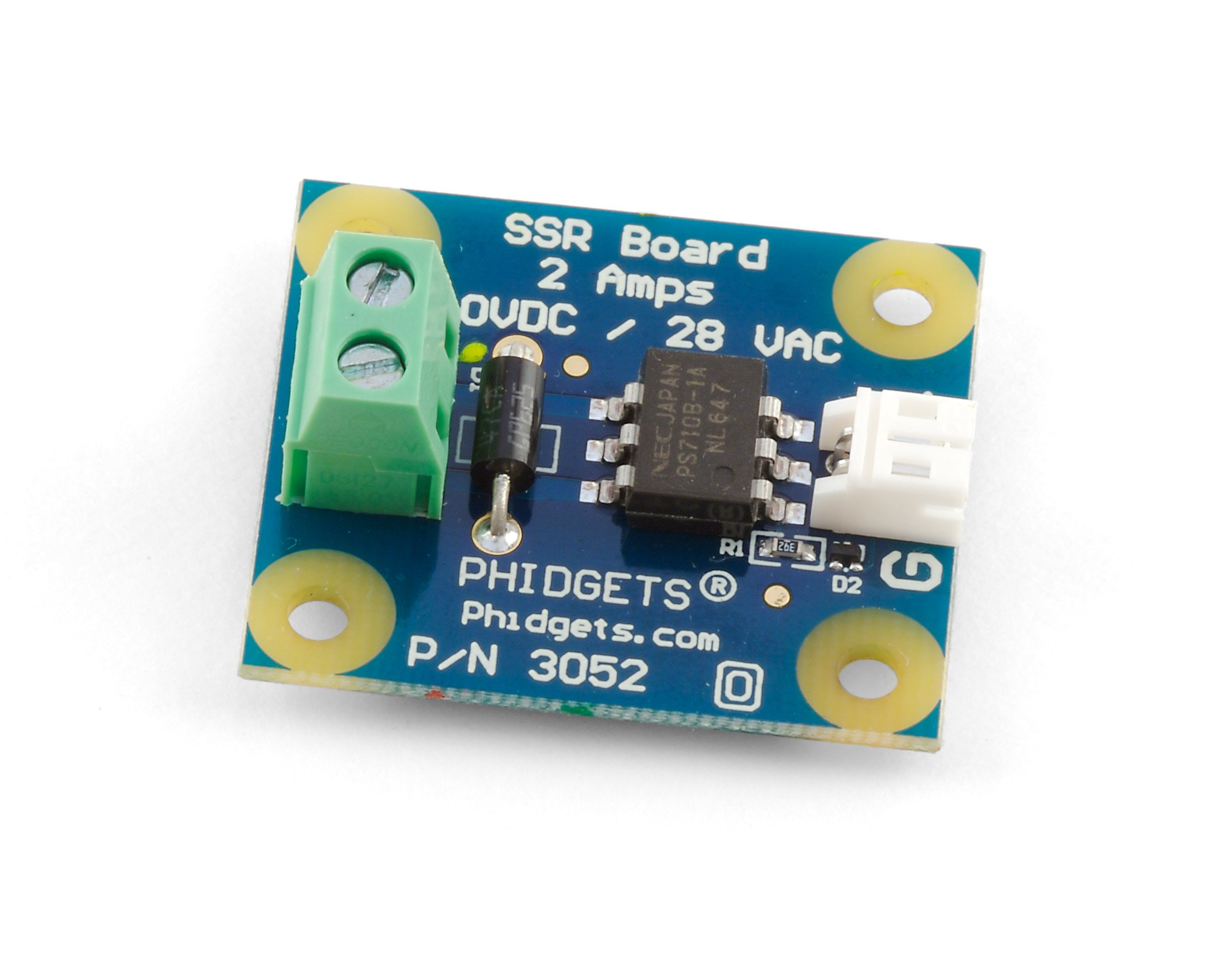 SSR Relay Board - 3052_0 at Phidgets