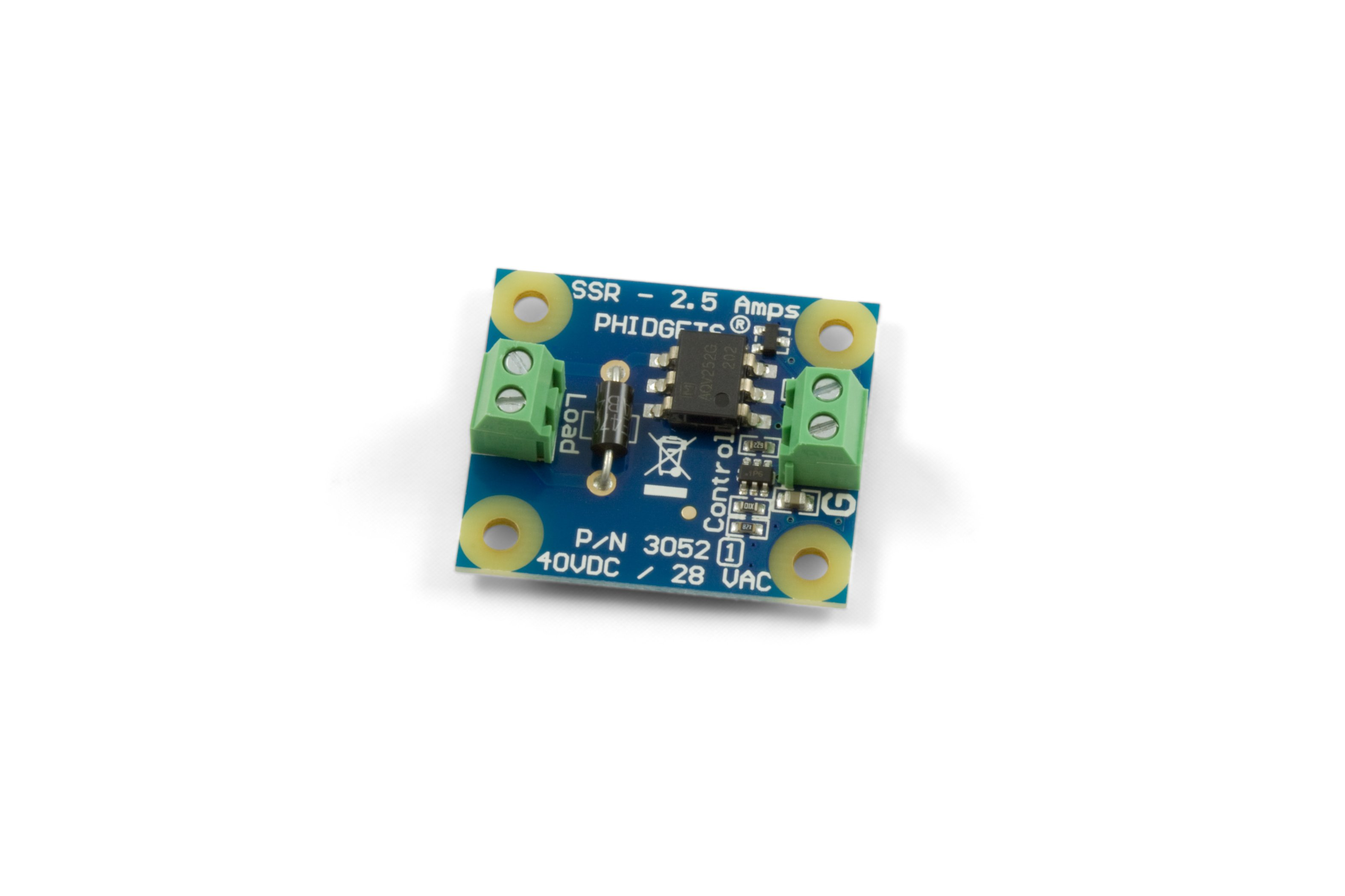 Ssr Relay Board 25a 3052 1 At Phidgets Drive By Digital Circuit