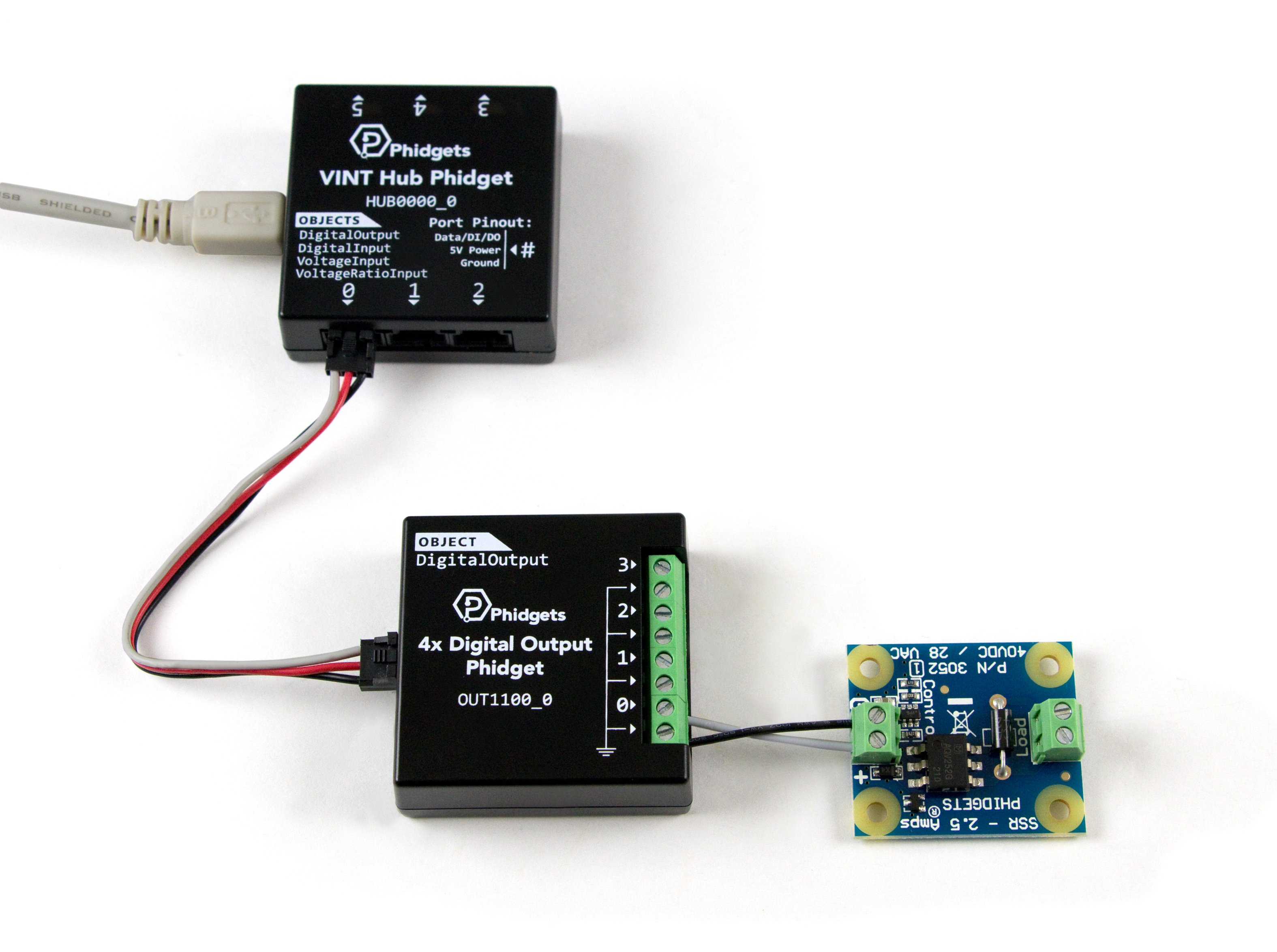 Ssr Relay Board 25a 3052 1 At Phidgets Pressed And Circuit Goes To On State Switch A High Power Led Functional Out1100