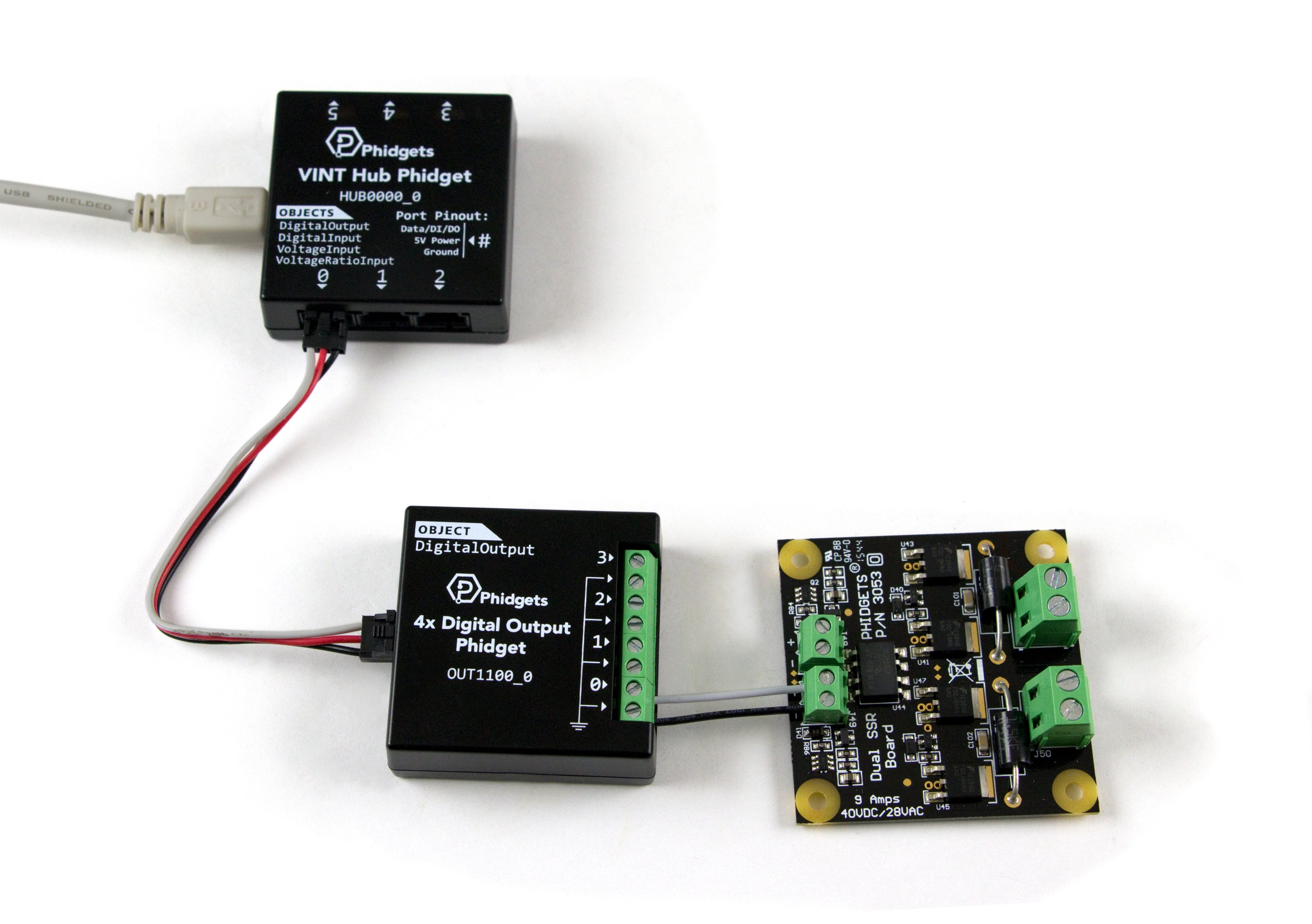Dual Ssr Relay Board 3053 0 At Phidgets Terminal Functional Out1100