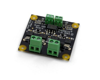 Dual SSR Relay Board