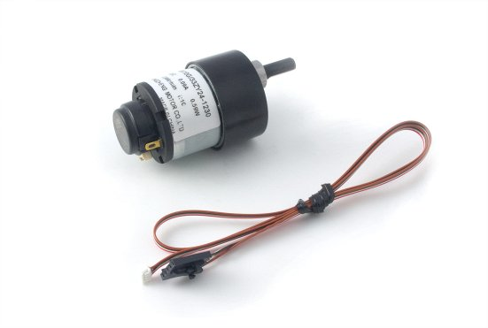 12V brushed DC motor with encoder