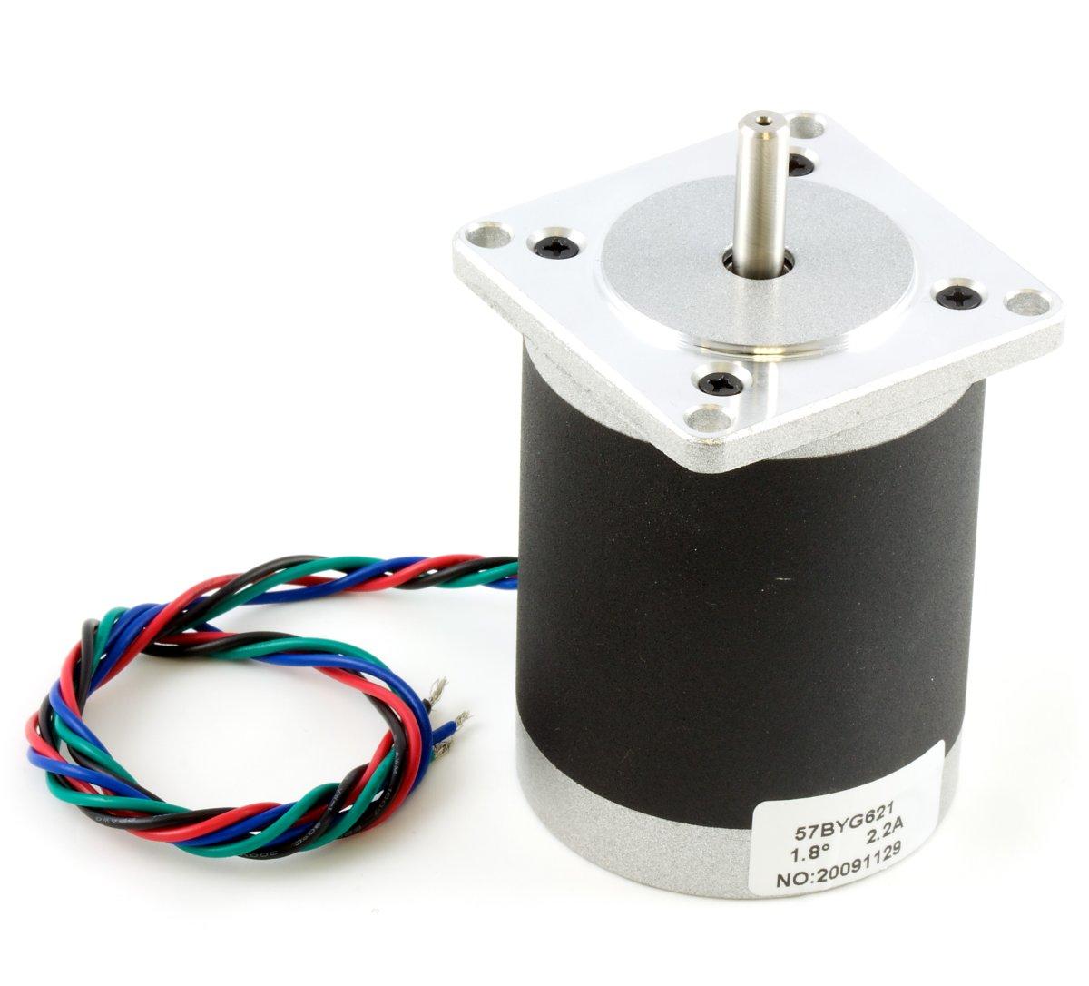Nema 23 bipolar 76mm stepper 3307 0 at phidgets for Low rpm stepper motor
