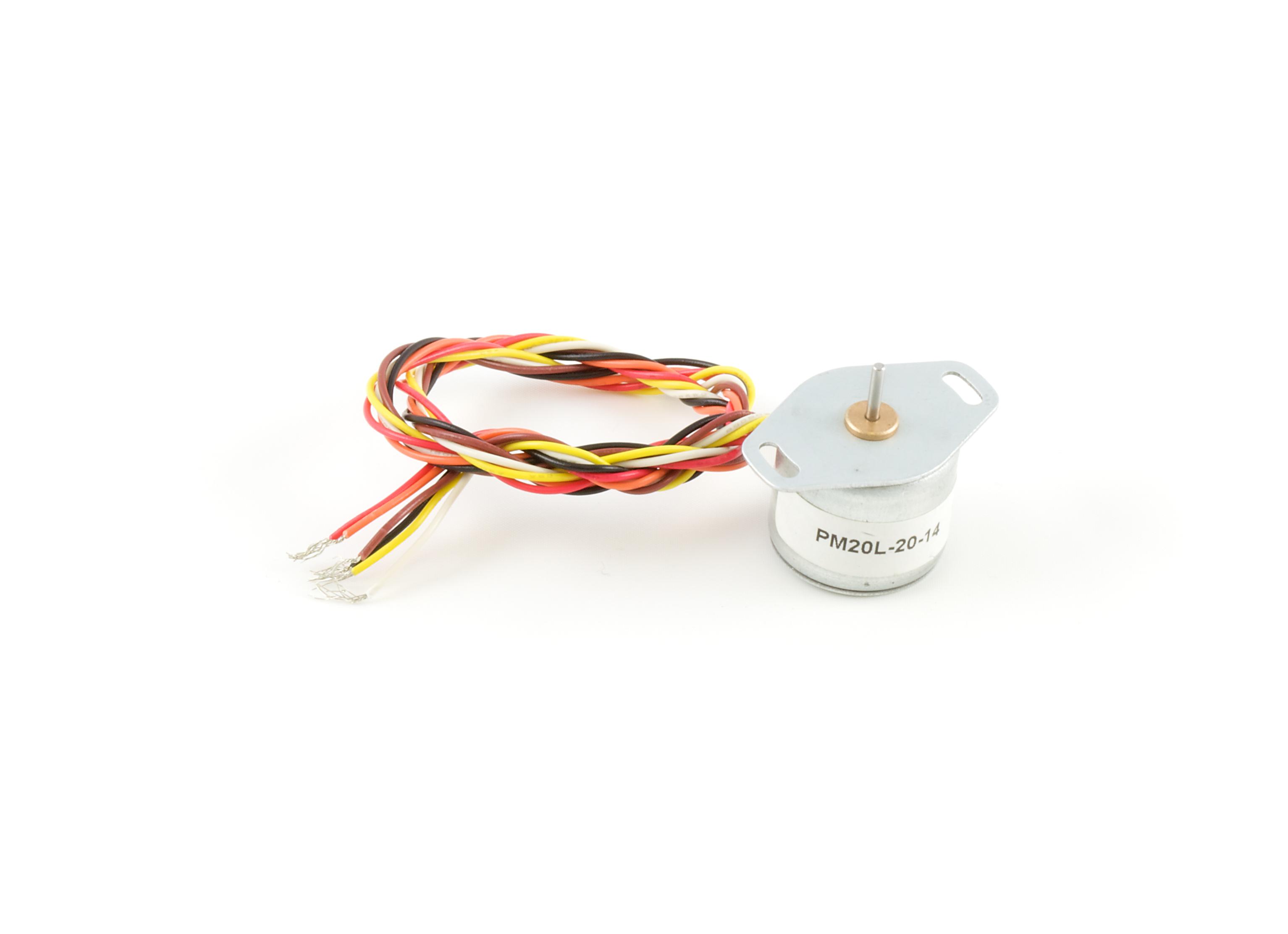 50g Cm Unipolar Stepper 3316 0 At Phidgets Motor Wiring