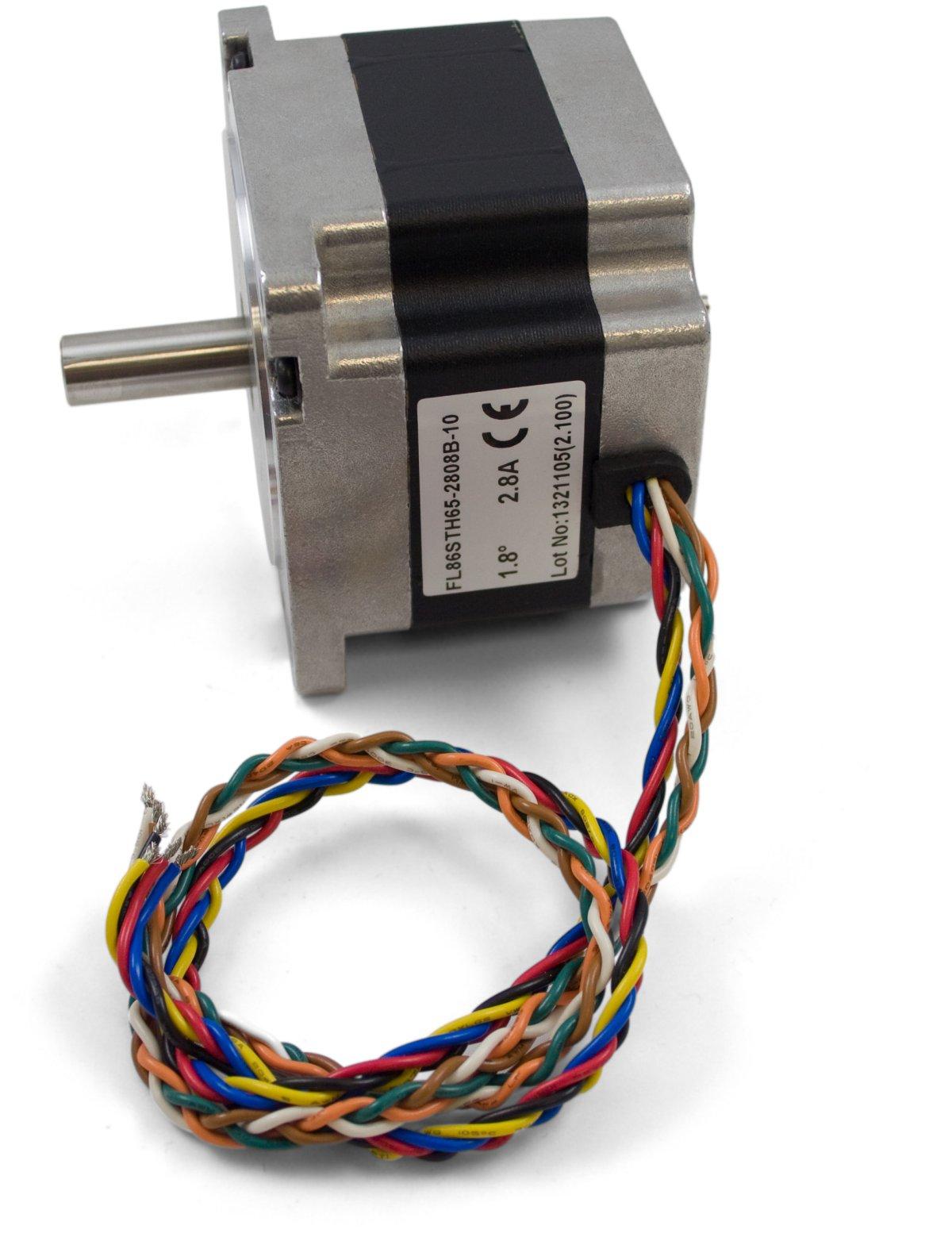86sth65 nema 34 bipolar gearless stepper 3335 0 at phidgets for Nema 34 stepper motor mount