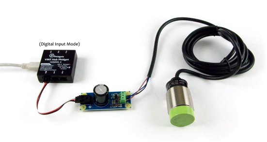 3537 functional VINT Hub Digital Input