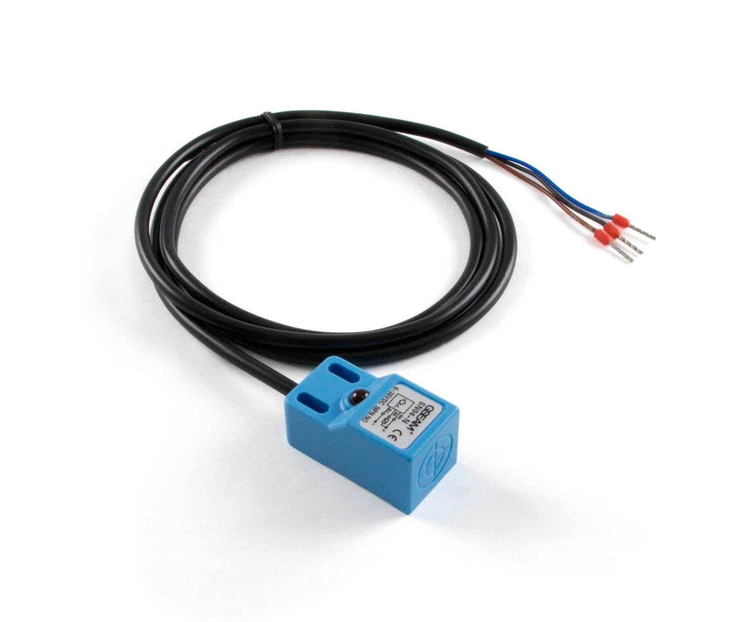 Sn04 N Inductive Proximity Sensor 5mm 3528 0 At Phidgets Sensors Capacitive