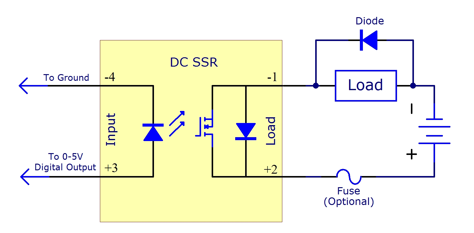 Solid State Relay Circuit Diagram on air pressor motor starter wiring diagram