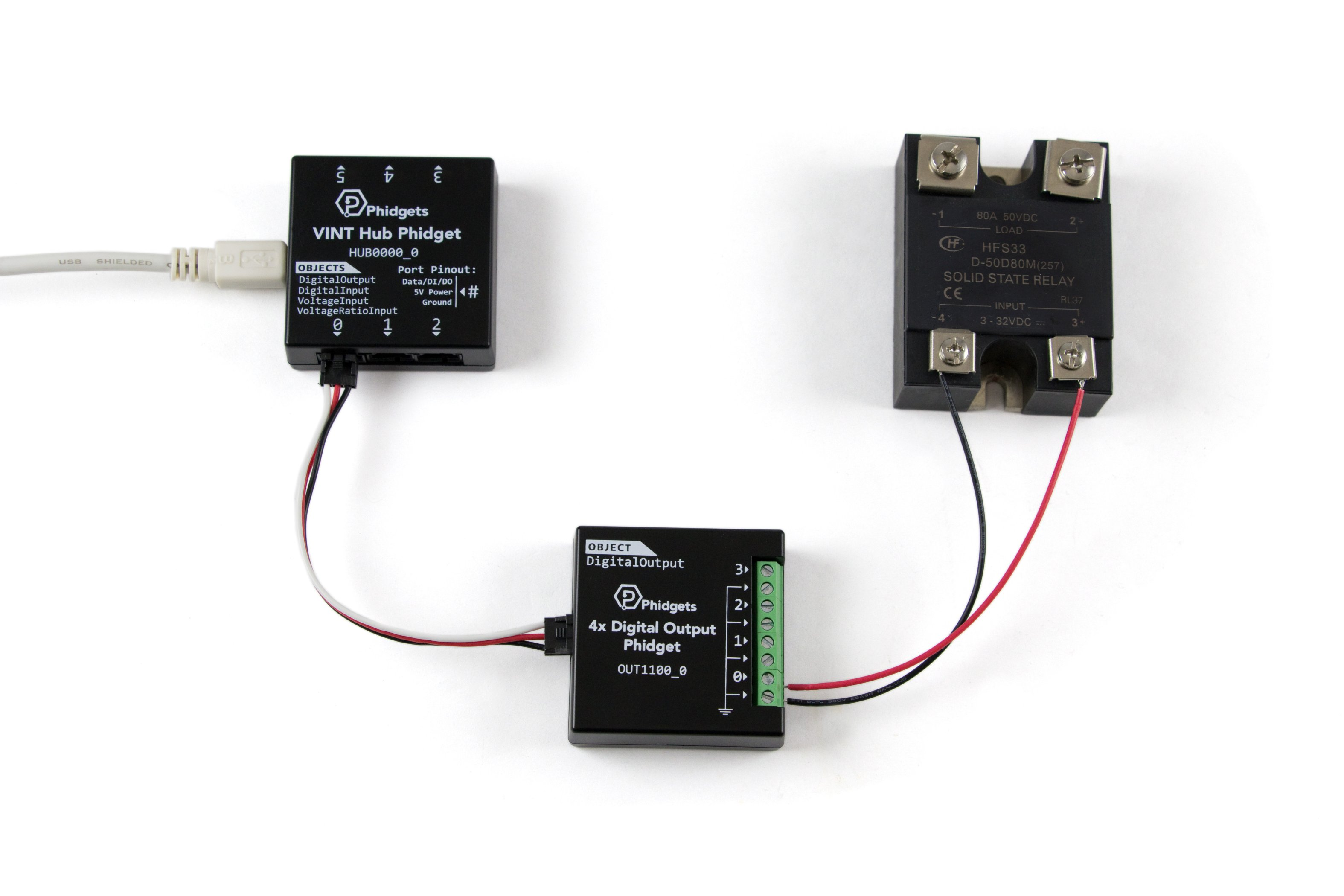 Dc Solid State Relay 50v 80a 3951 0 At Phidgets Electrical Application