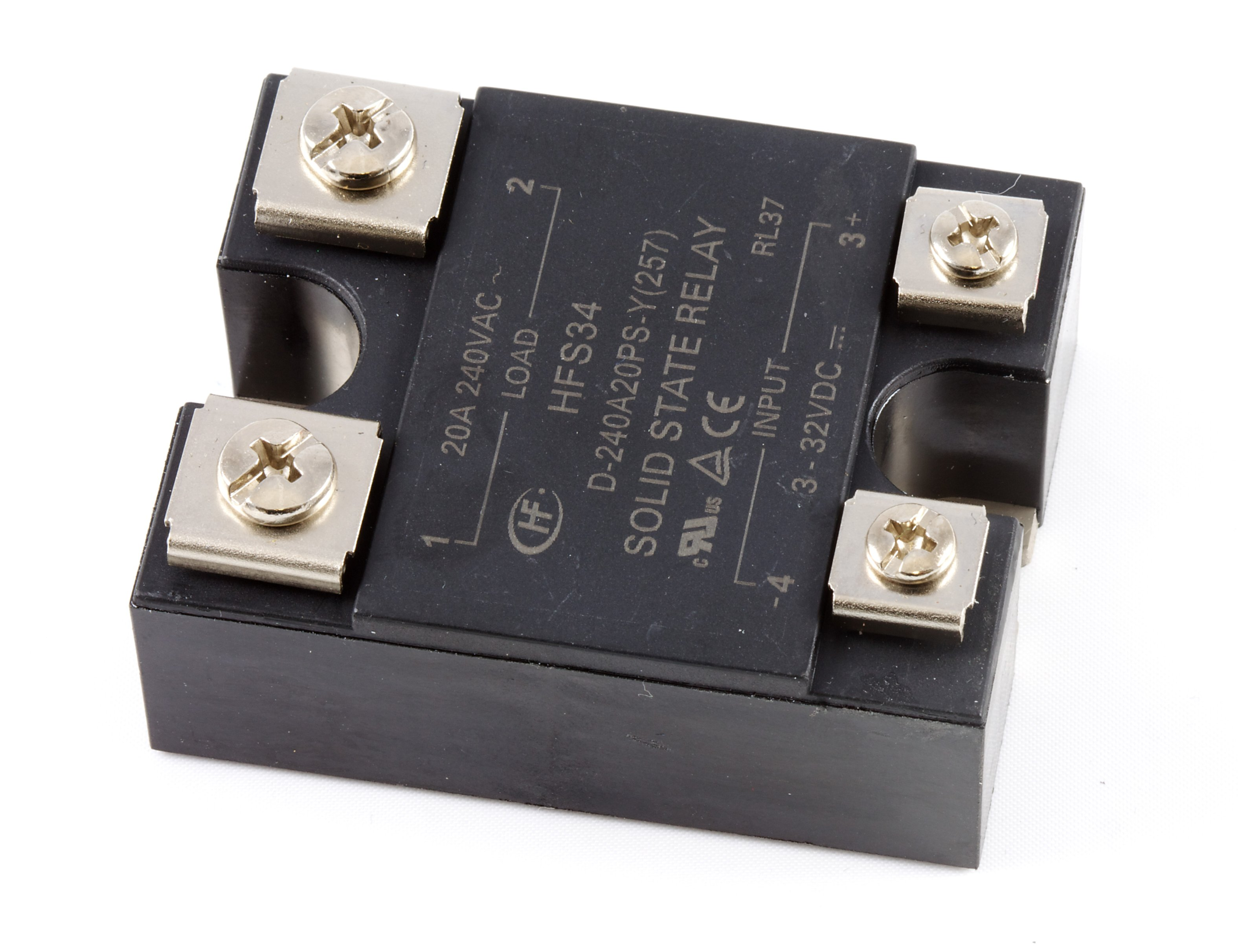 Ac Solid State Relay 120v 20a 3953 0 At Phidgets For