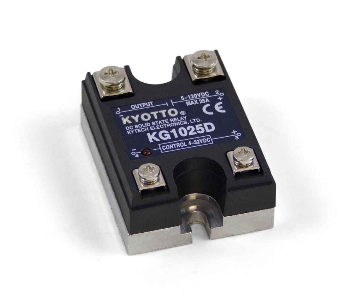 dc solid state relay - 120v 25a