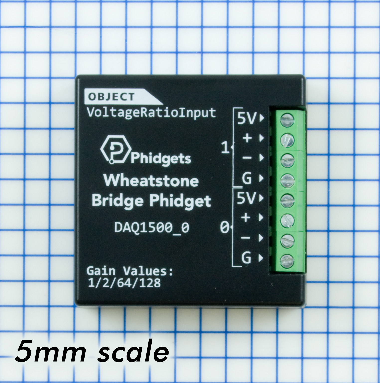 Wheatstone Bridge Phidget Daq1500 0 At Phidgets Wiring 2 12 Volt Batteries Parallel On Interface Load Cell Scale