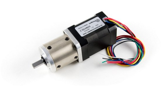 42DMW61 NEMA17 Brushless Motor with 15:1 Gearbox