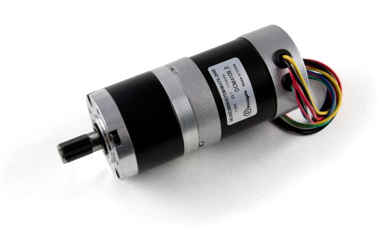 57DMWH75 NEMA23 Brushless Motor with 23:1 Gearbox