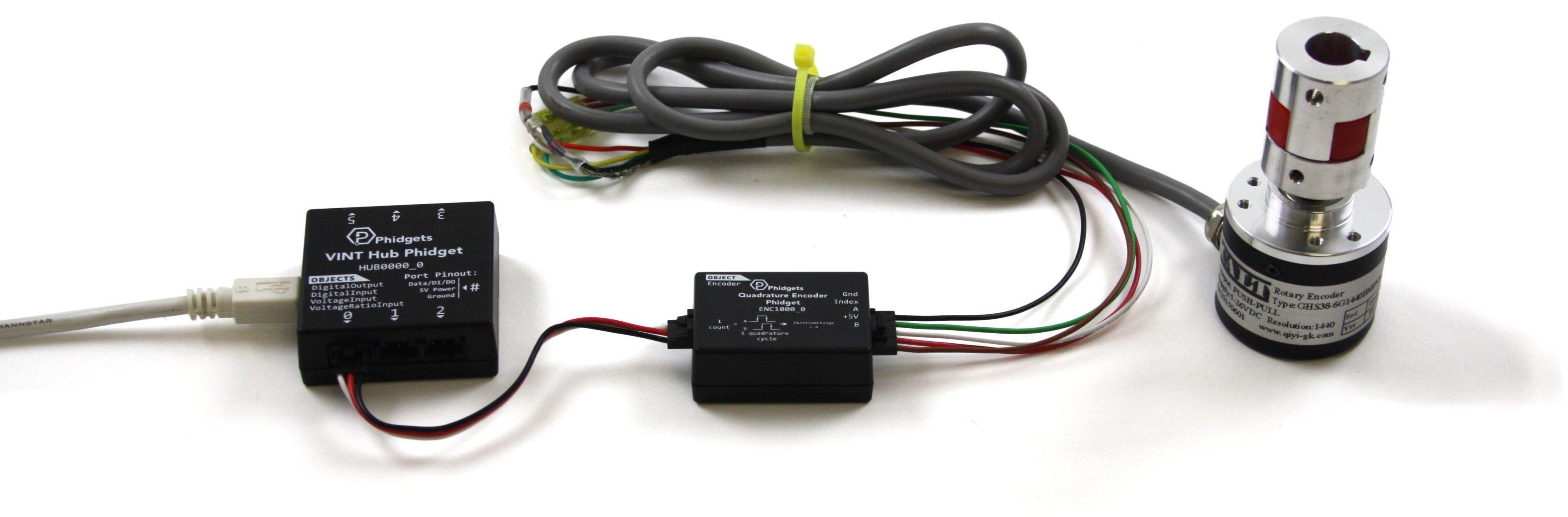 Quadrature Encoder Phidget - ENC1000_0 at Phidgets